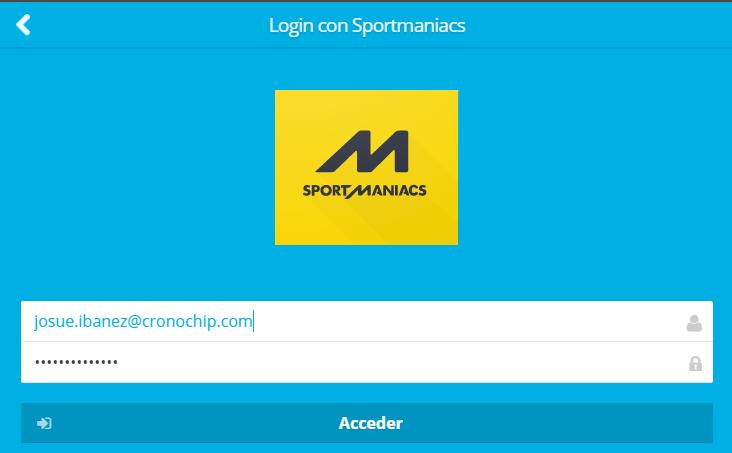 Conexión a Sportmaniacs- Paso 3