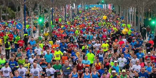 medidas de seguridad en un maraton