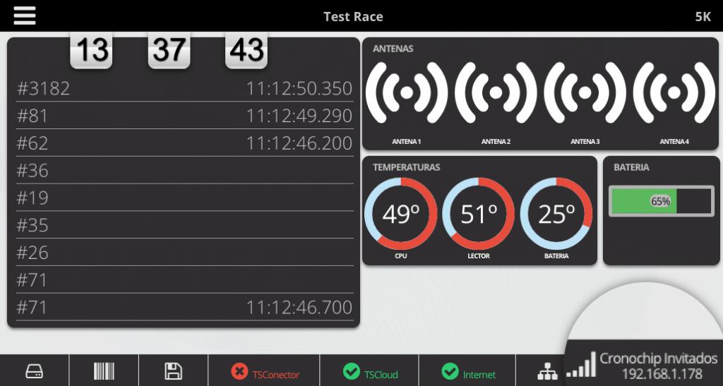 Visualización de la pantalla del equipo desde el ordenador