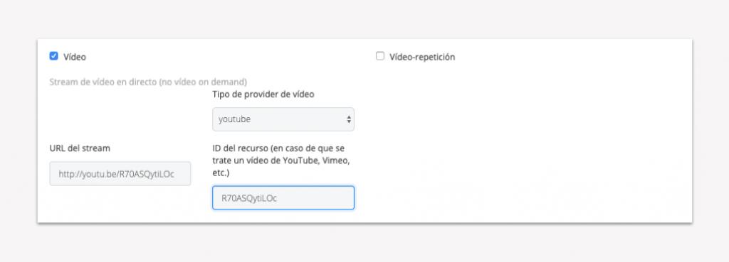 Activar el vídeo en directo de un punto de control - Paso 5