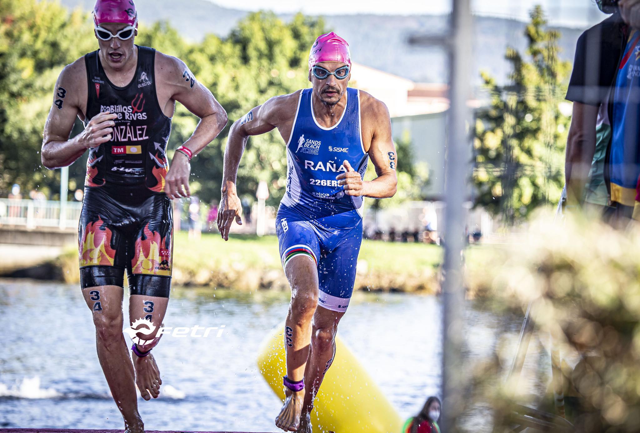 Triatlón de Pontevedra - Swim